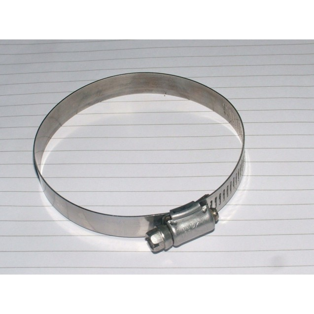 FIVE  Stainless steel Hose clamp.65 - 89 mm.adjustable, Tridon Mod specification