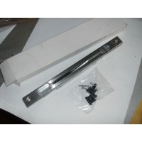 Schuco 213043 lever flush bolt, stainless steel finish with fixing screws