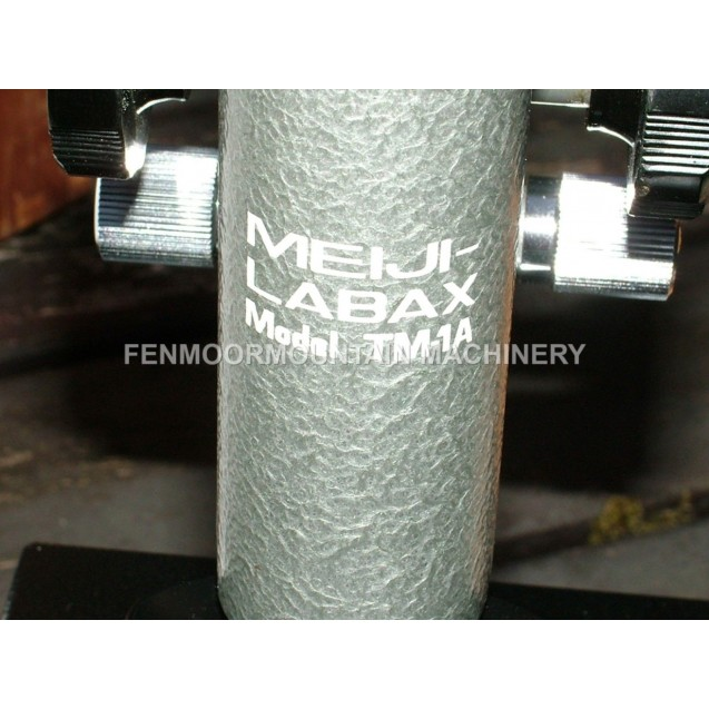 Microscope, Meiji Labax TM-1A   unused, complete