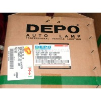 FORD COURIER,FIESTA MK 5 drivers side right headlight. Depo HL1124 New
